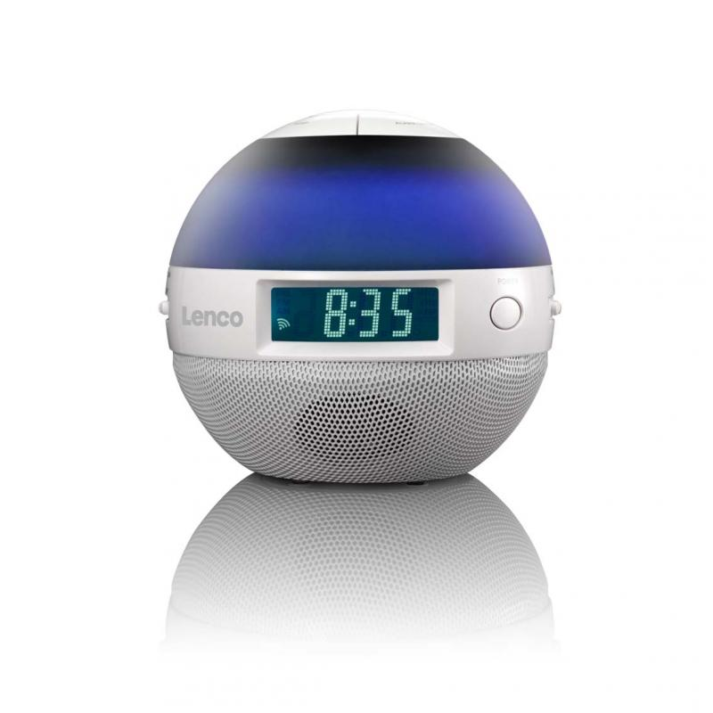 Lenco Crw 1 Alarm Clock Radio With Sunrise Effect