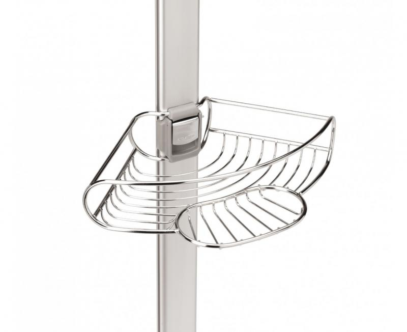 Simplehuman Bt1062 Tension Shower Caddy Stainless Steel